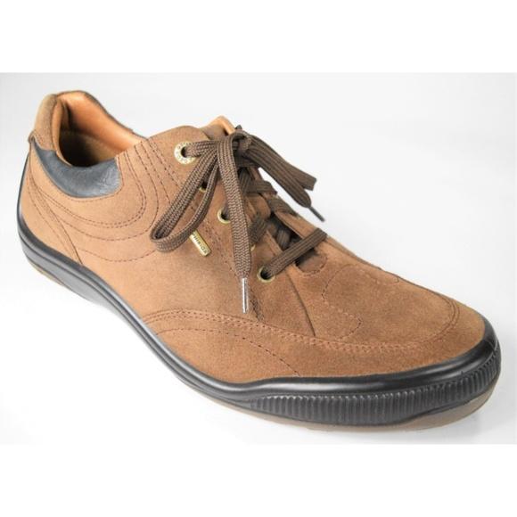 fc1553fb317 Geox Shoes   Respira Amphibiox Mens Brown Suede   Poshmark